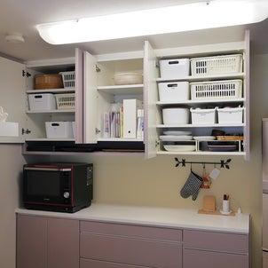 キッチン吊戸棚は上手に使えば使いやすい収納になるの画像