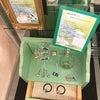 カルチャーセンターにレジュフラワーが展示されています。の画像