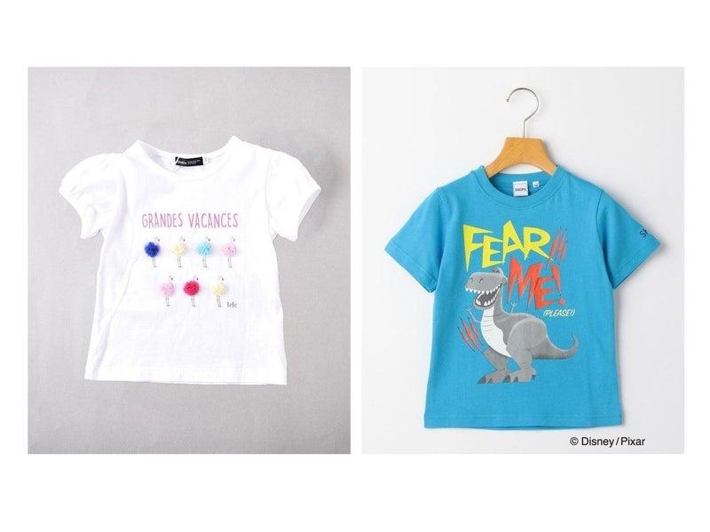 【BeBe / KIDS/ベベ】の天竺フラミンゴTシャツ&【SHIPS / KIDS/シップス】のSHIPS KIDS: トイ・ストーリー4 TEE 【KIDS】子供服のおすすめ!人気、春夏キッズファッションの通販   おすすめで人気のファッション通販商品 インテリア・家具・キッズファッション・メンズファッション・レディースファッション・服の通販 founy(ファニー) https://founy.com/ ファッション Fashion キッズ Kids トップス Tops Tees Kids スリーブ チュール ベーシック カラフル ワンポイント シンプル スペシャル キャラクター |ID:crp329100000061159