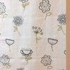 [施工事例]イギリスから届いた☆リネン素材の刺繍生地~北欧ナチュラルテイスト~の画像