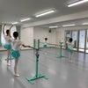 動くバレエ教師と動かないバレエ教師の画像