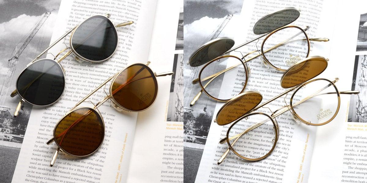 これからの季節に最適!メガネに着用出来るサングラス入荷しました!
