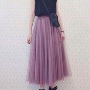 甘めチュールスカートをバランスよく着る方法
