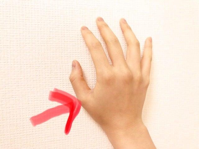 付け根 親指