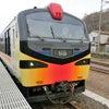 桜旅の帰りはJR五能線に乗るの画像