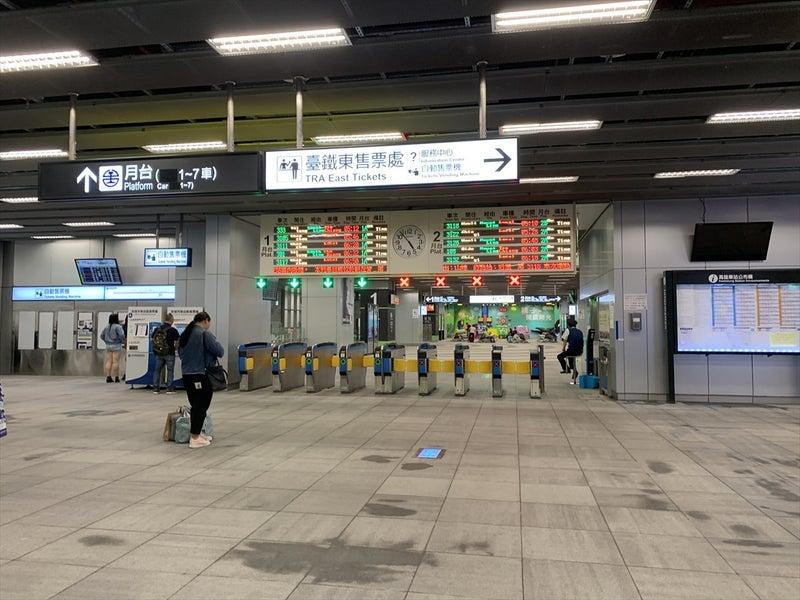 【台湾鉄路管理局】加禄駅の硬券乗車券