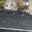 松居一代さん、ブログも捏造か?雨の六本木の写真、この大雨なのにテラスが乾いてる。