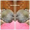 グレイヘアーブームのさきがけ♪|マレーアレナータカールとカラーの画像