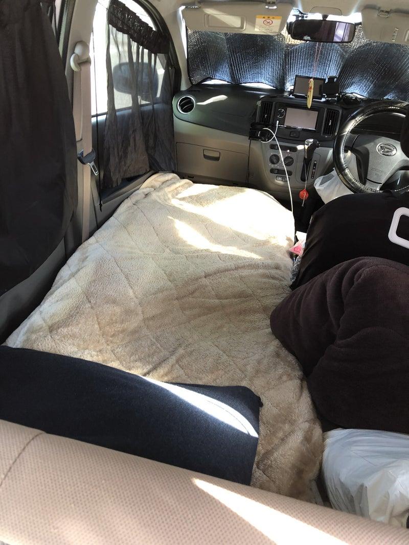 車 中泊 ミライース