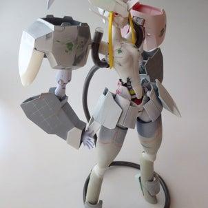 女の子ロボとデカい武器の画像