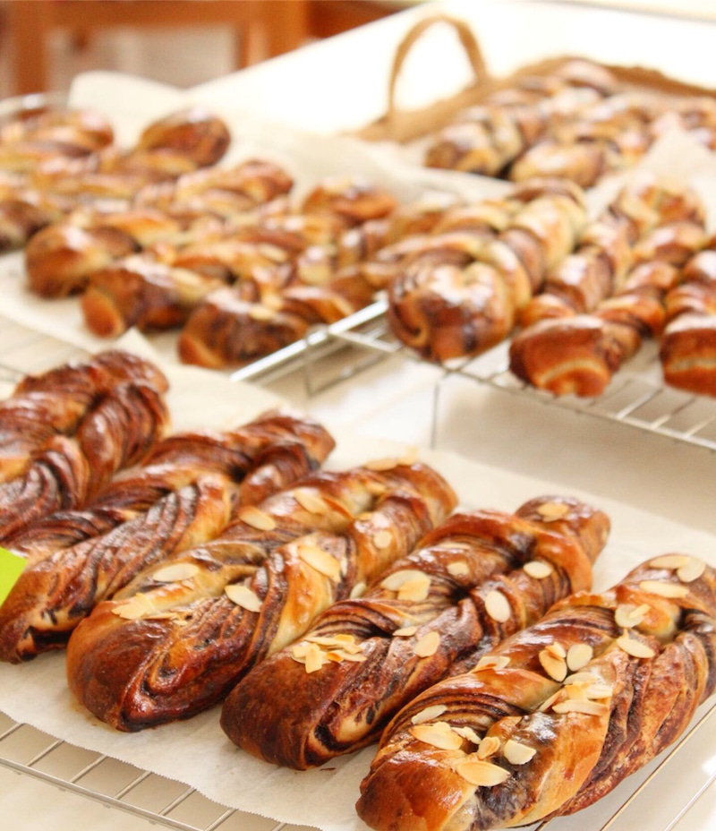 チョコ マーブル パン