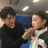 紀平梨花選手へのインタビューの画像