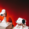 need friend? or my own DOG? スヌーピーミュージアム展の画像