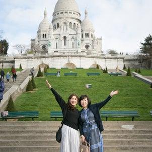 パリ女子旅! モンマルトルの丘から☆の画像