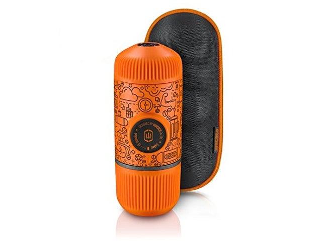 ワカコ 携帯用ミニエスプレッソメーカー ナノプレッソ