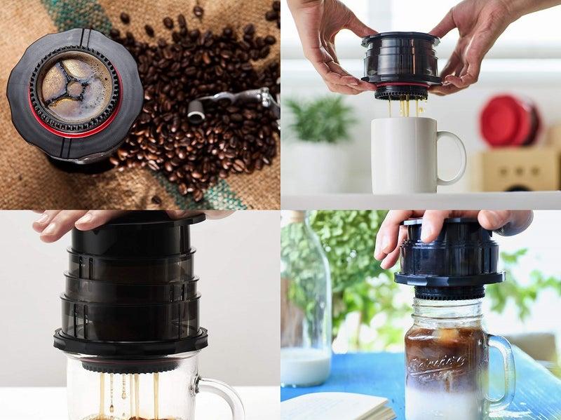 カフラーノ フレンチプレス コーヒーメーカー コンパクト