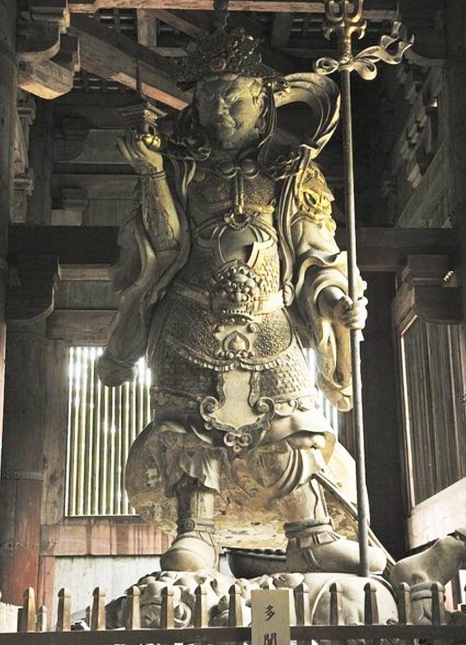鎌倉七福神  宝戒寺毘沙門天様