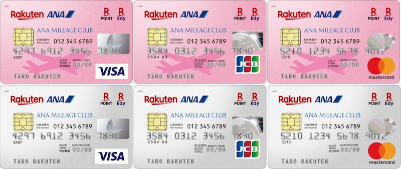 rakuten ana maileage club card