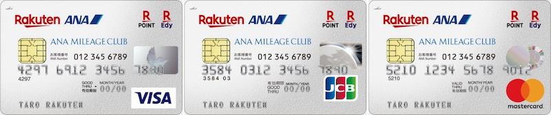 rakuten ana maileage club card silver