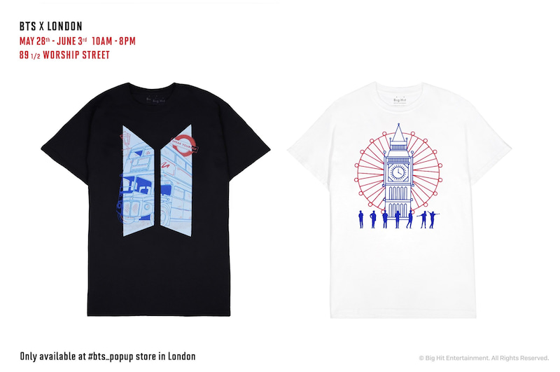 BTS FESTA タイムライン MAGIC SHOPグッズ ロンドンPOPUPストア