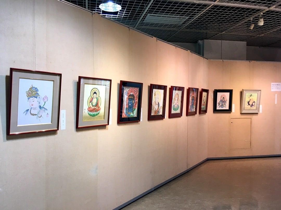 第四回 侊心会 仏画教室 作品展の記事より
