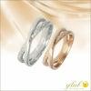 ハワイアン ジュエリー マイレ スクロール カレイキニ リング 指輪 名入れ 刻印の画像