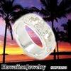 ハワイアンジュエリー シルバーリング スクロールの画像