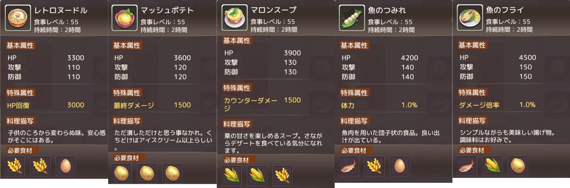 料理 レシピ テイル アッシュ