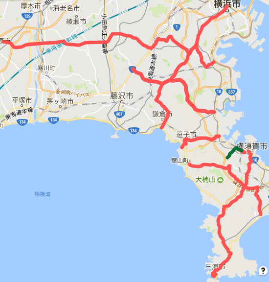 第103回・神奈川県主要地方道レビュー(20番台) | BLUEのブログ