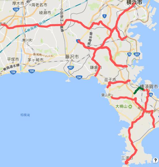 BLUEのブログ第103回・神奈川県主要地方道レビュー(20番台)