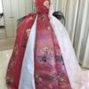 マル秘!一からドレスの製作工程を大公開!!立体裁断ピンワーク仮製作!和ドレスのできるまで♪の画像