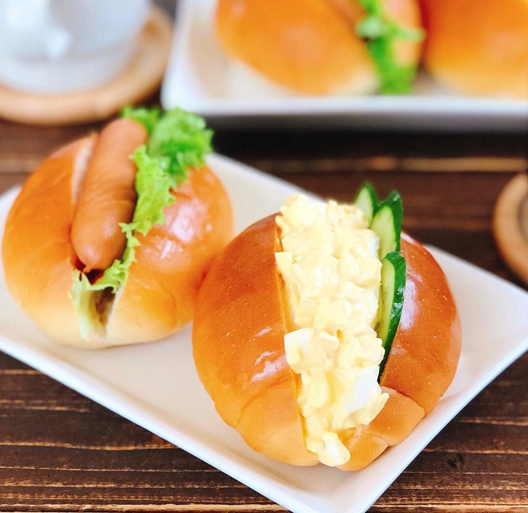 濃厚とろとろ卵サラダサンド!朝ごはんにオススメ、パンアレンジ