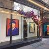 ロンドンより 気になる絵画 顔なしの有名人たち Maddox Galleryの画像