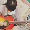 ギター始めましたの画像