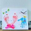 募集中☆2月29日★ハッピーママフェスタ☆手形足形時計アートの画像