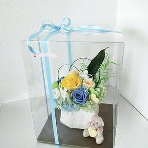 可愛い仏花の画像