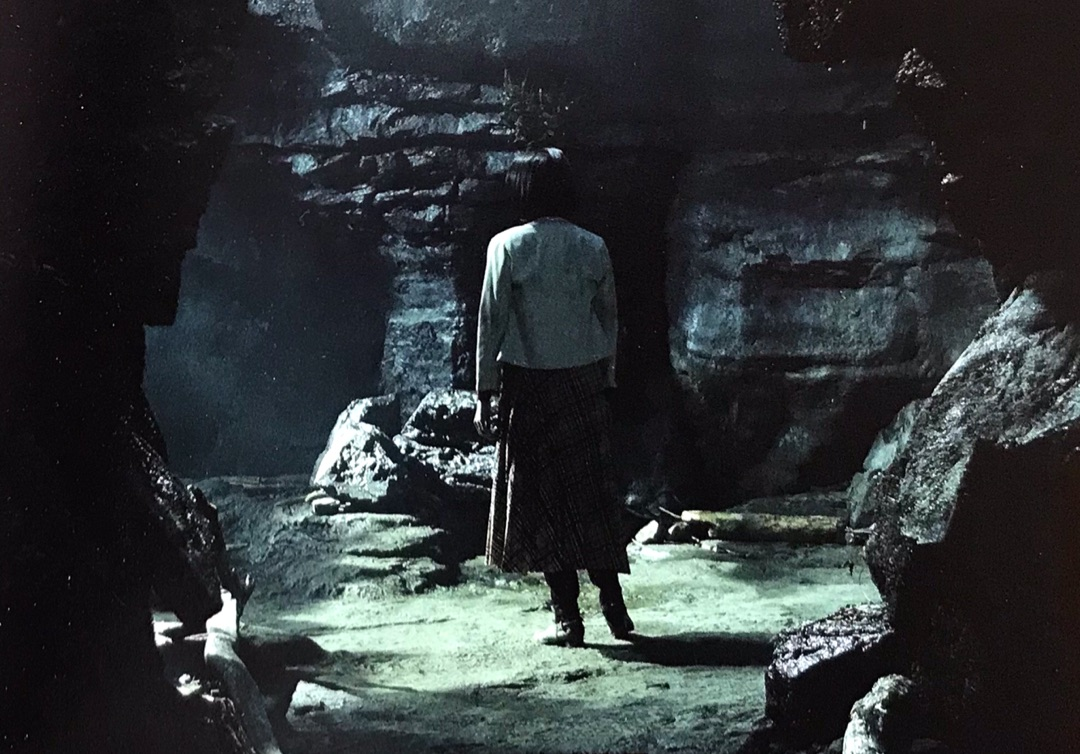 池田エライザ演じる総合病院勤務の心理カウンセラーが、必然のように恐怖の世界へと導かれていく。