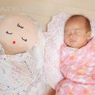 生後1ヶ月半の赤ちゃんとレッスン【おくるみタッチケア ベビーレッスン】の記事より