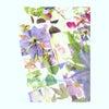 みすゞカレンダーの挿絵と、クレイで作る盆栽の画像