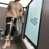 夏前のサマーセーターと、UNIQLOのリブタンクトップの画像