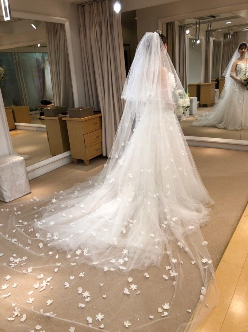 【HPブログ更新】桂由美先生のウェディングドレスは手に届く!の記事より