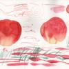 初めての水彩画 その3 ブラッシュコントロールの実際の画像