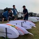 ジャスティスサーフボード DEMO TOUR への記事より