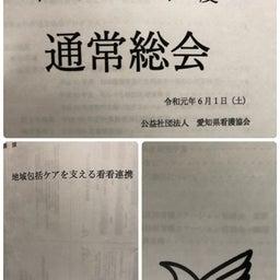 画像 愛知県訪問看護ステーション協議会  総会&講演会 の記事より