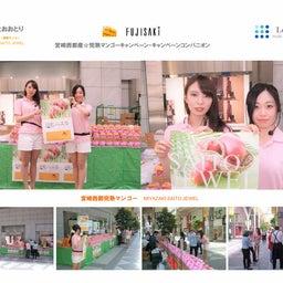 画像 2018宮崎西都マンゴー・イベントコンパニオン の記事より