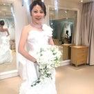 【HPブログ更新】難しそうなウェディングドレスも骨格診断的を利用して綺麗に着てみると…の記事より