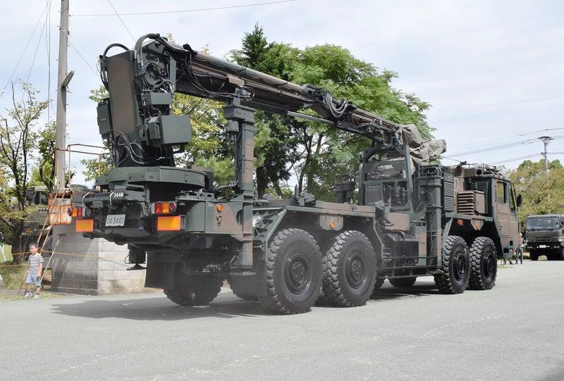 03式中距離地対空誘導弾 誘導弾運搬車 | 気まぐれブログ