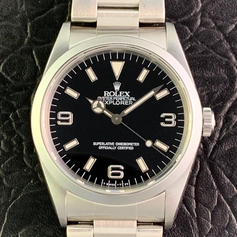 buy popular 3e0a6 45aff ROLEX ロレックス エクスプローラーI 14270 E番 | 【毎日更新 ...