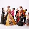 和と洋の美しいコラボを表現。ドレスの撮影現場はスペシャリストの宝庫。手早く美しい技の競演。の画像
