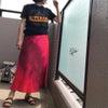 着丈102cmのシャツワンピをどう着よう…の画像
